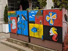 Street art - Frank Stollery Parkette
