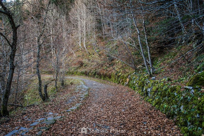 Camino hacia los Uelhs deth Joèu