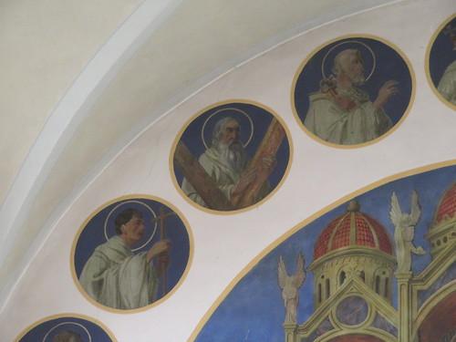 20170929 02 507 ostbay Rattenberg Kirche Apostel Medaillions Bilder Santiago