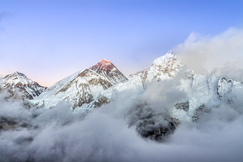 mountain himalaya everest lhotse