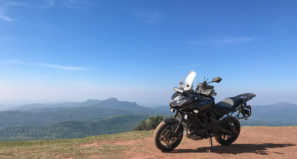 Kudremukh in the distance.