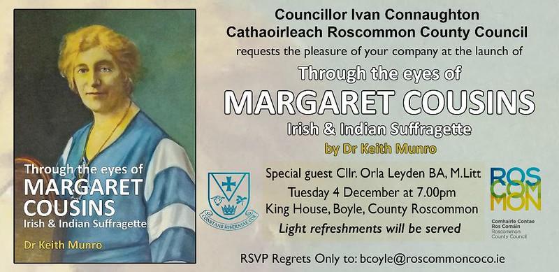 Margaret Cousins invite