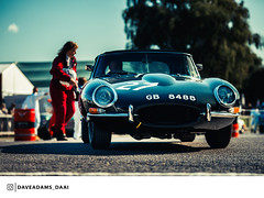 1961 Jaguar E-Type (Entrant/Driver Adam Lindemann and Richard Meaden) at the 2018 Goodwood Revival
