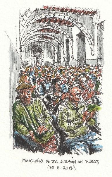 Estreno del documental Trashumando recuerdos en Burgos