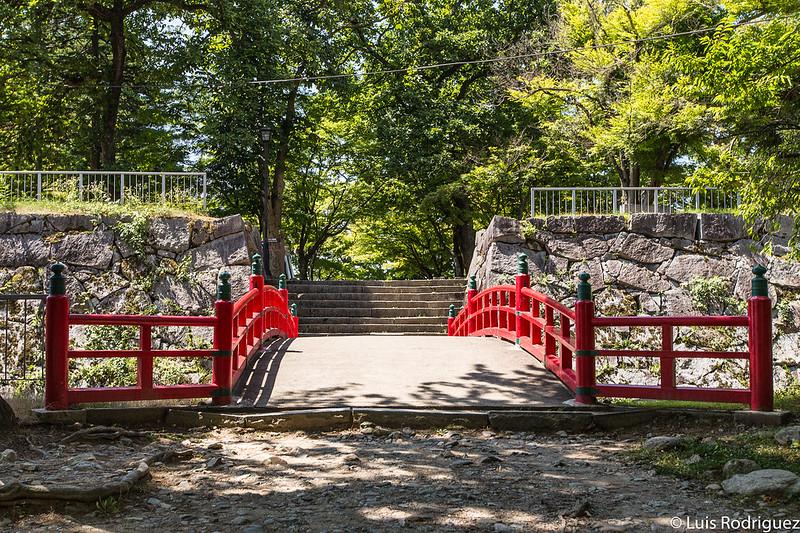 Parque de Iwate, el parque del antiguo castillo de Morioka