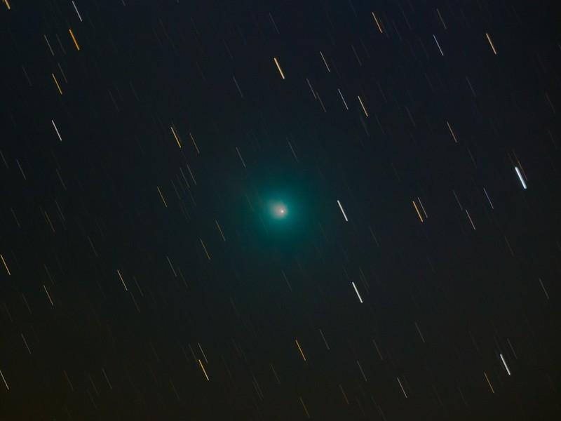 46P ウィルタネン彗星 (2018/12/13 23:25-23:58)