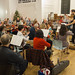 DSCN2039c Ealing Symphony Orchestra Christmas Concert rehearsal. 15th December 2018. Ealing Green Church, west London (photo Lucy Robinson)
