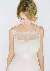 Peinados desenfadados para vestidos de novia Cortos (19)