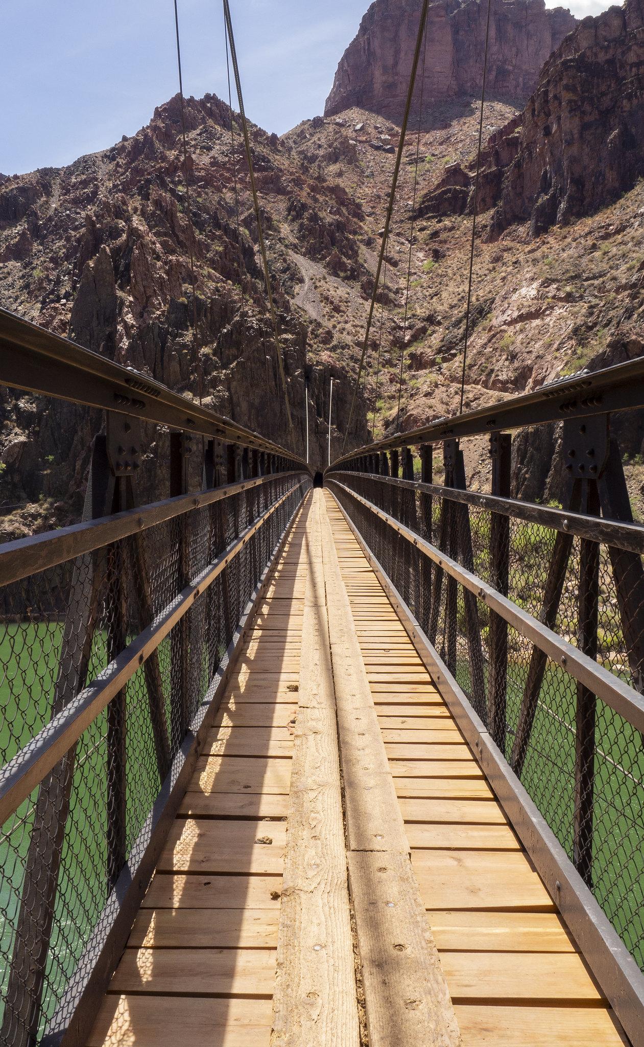 Bright Angel Suspension Bridge