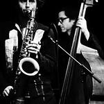 Johannes Schleiermacher: sax / Oliver Potratz: bass