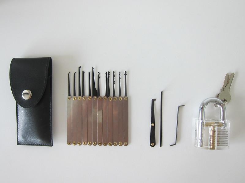 Lock Pick Set - Box Contents