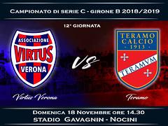Virtus Verona - Teramo 2-0 FINALE