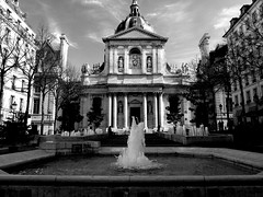At the Sorbonne Fountain