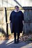 Black rayon jersey Tacara