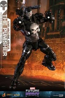 這麼帥真的不要緊嗎?! Hot Toys - VGM33D28 -《MARVEL未來之戰》制裁者 (戰爭機器裝甲) The Punisher (War Machine Armor) 1/6 比例人偶作品