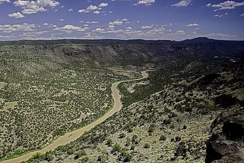 newmexico riogrande river landscapes whiterockoverlook mountains santafe losalamos jemezmountains