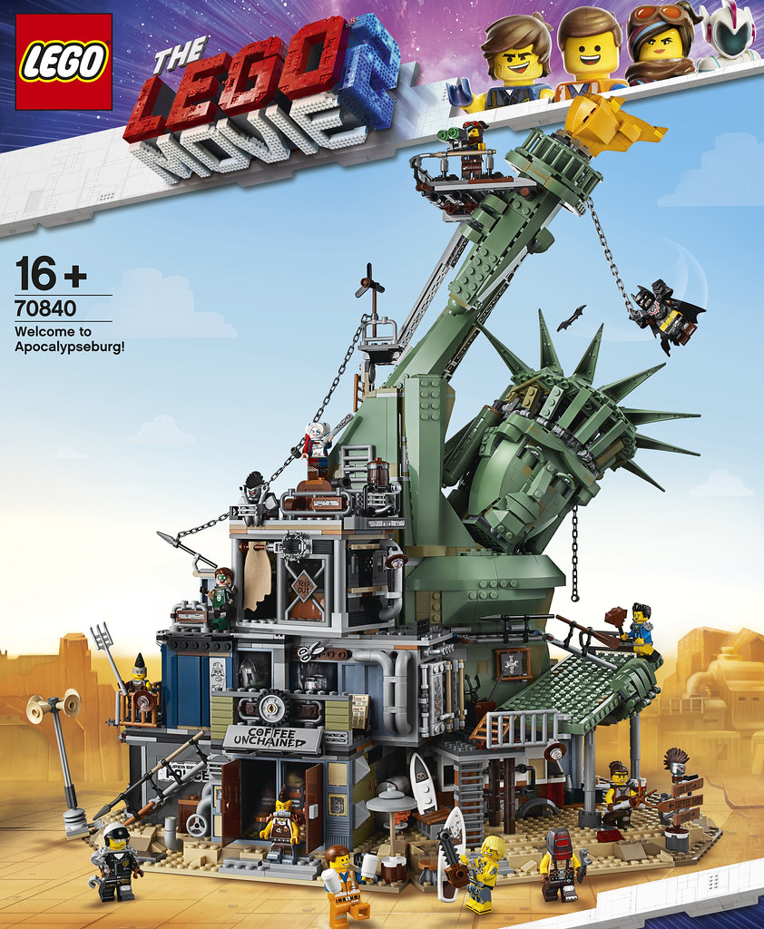自由不復存在,想生存下去只有變得更加瘋狂?! LEGO 70840《樂高玩電影2》歡迎光臨阿波卡天啟堡! LEGO Movie 2 Welcome to Apocalypseburg!