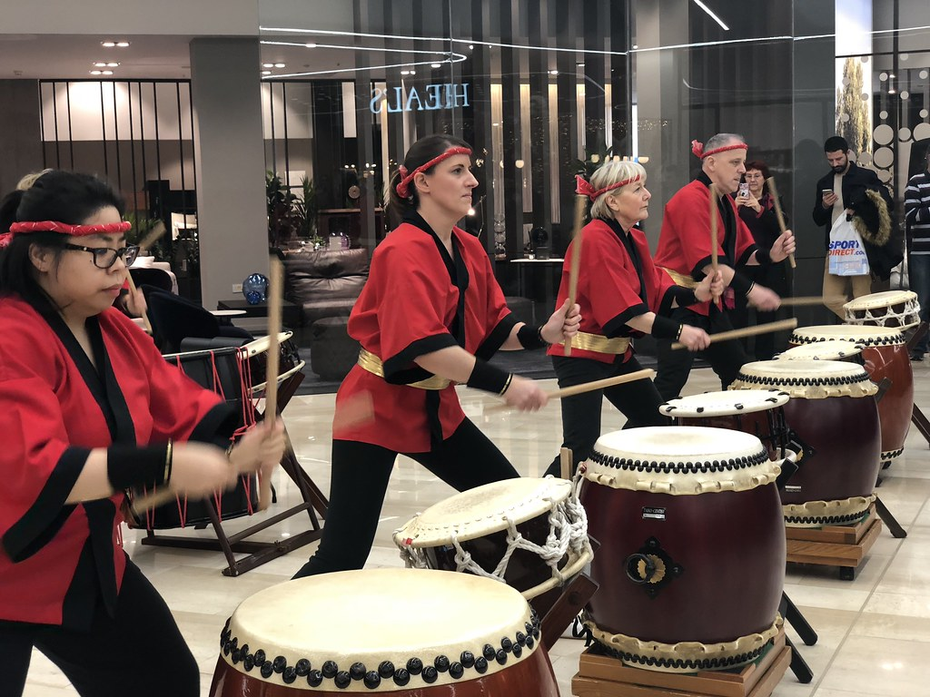 Taiko Drumming London