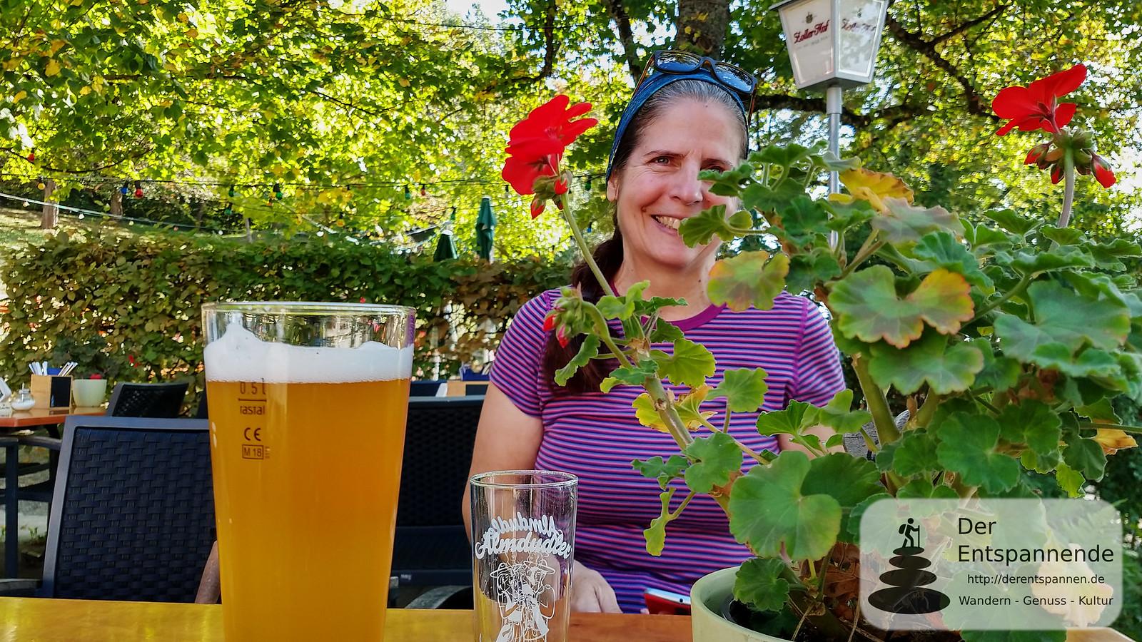 Weizenbier, Almdudler und ein Lächeln im Haldenhof