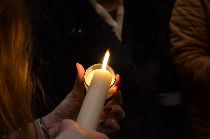 Luz da Paz de Belém - partilha diocesana 2017