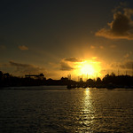 Another setting Sun photo at Preston Docks