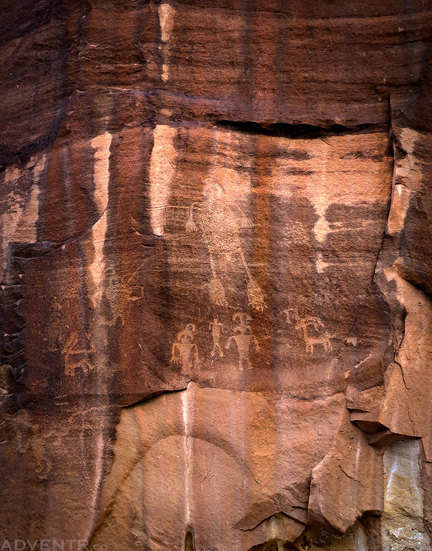 Indian Creek Petroglyphs