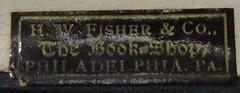 Penn Libraries 811W YDe Whitman copy: Bookplate/Label