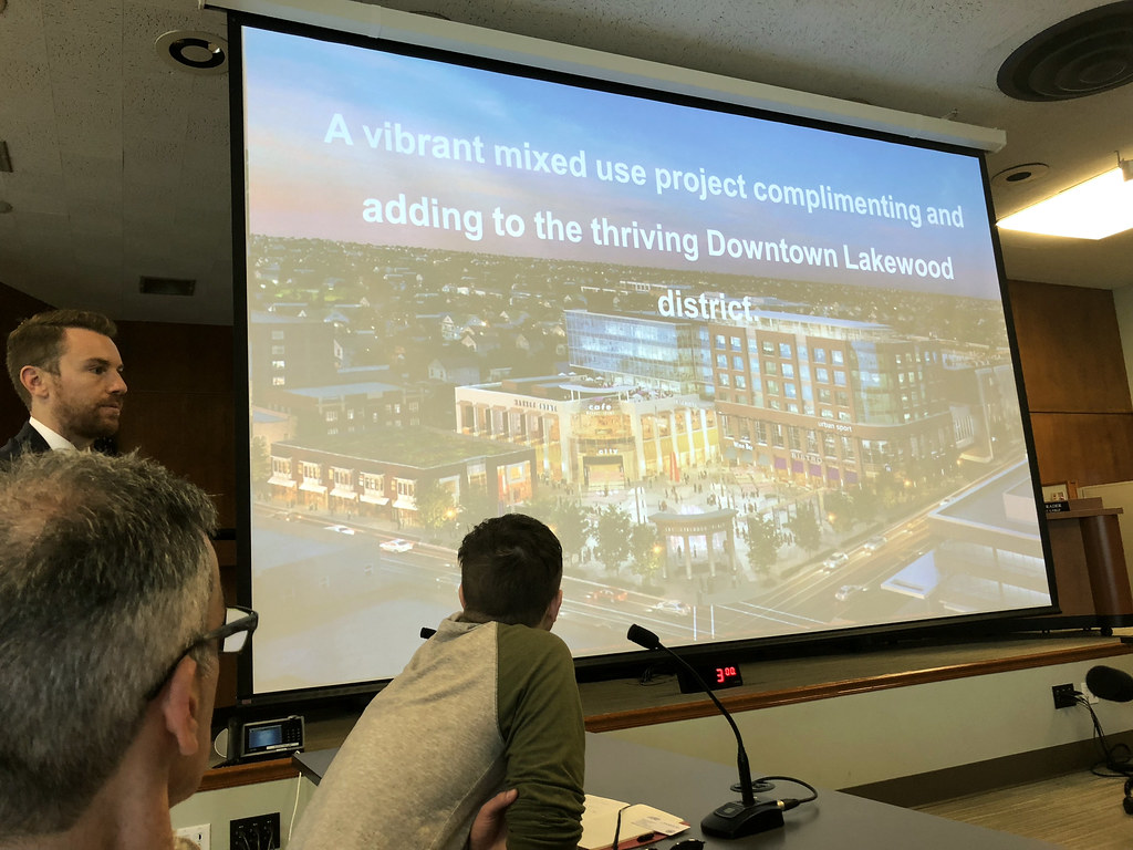 CRP students traveled to Lakewood, Ohio, as part of the Land Use, Environmental Planning, and Urban Design Workshop with Visiting Critic Mitch Glass. This was the first of two visits during the semester.  photo / Mitch Glass