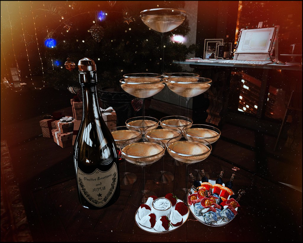 Buffet champagne dispenser by ChicChica @ Collabor88