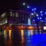Festive centre of Preston