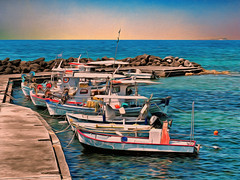 Fishing Boats - Corfu