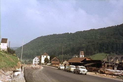 Kantonsstrasse Rümlingen, Baselland : 8 September 1963