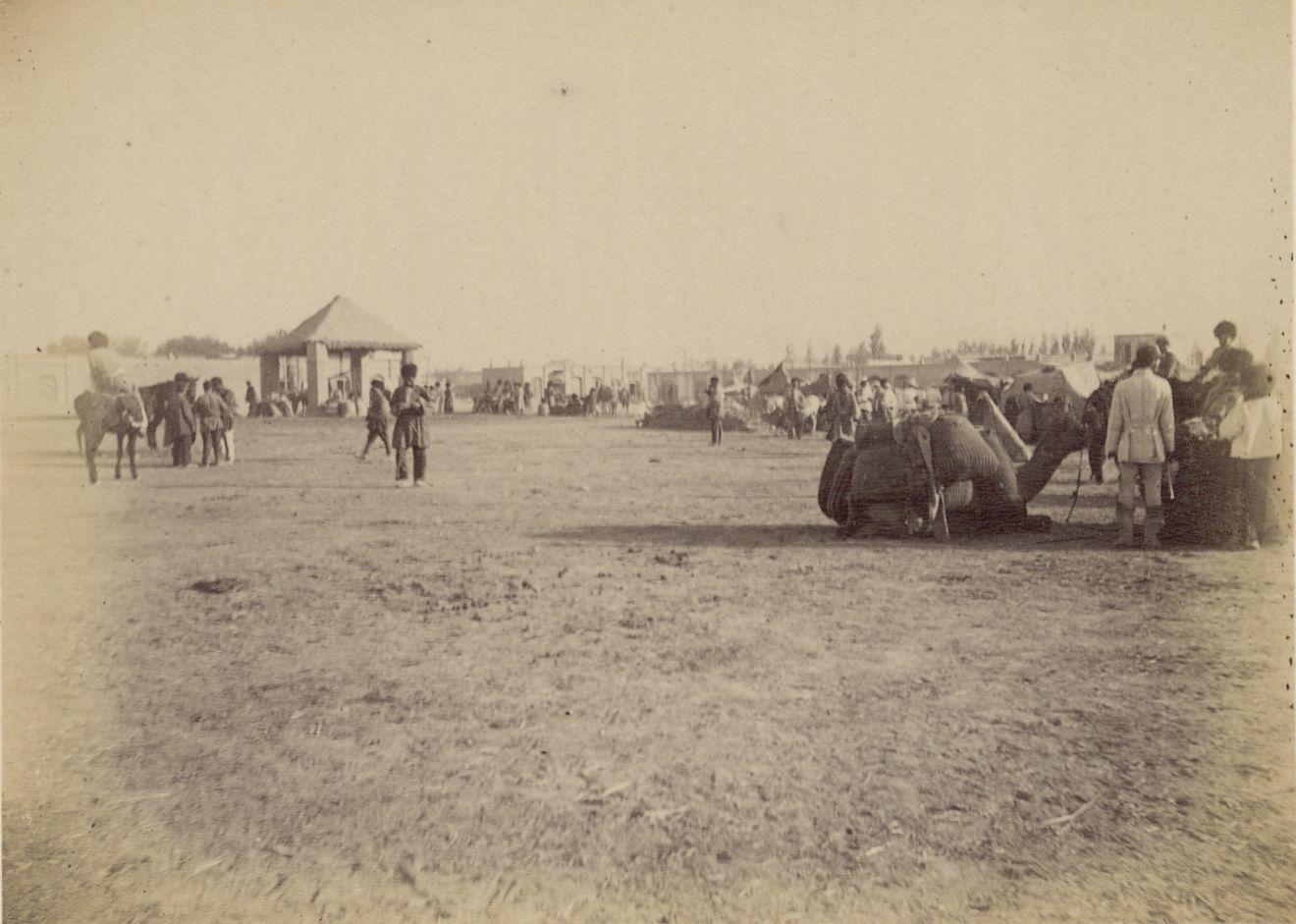 Асхабад. Рыночная площадь