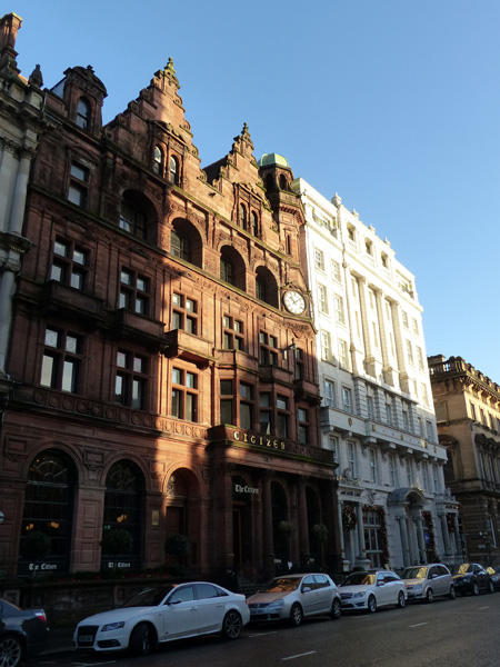 immeubles de glasgow