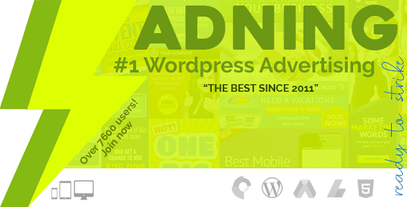 Adning Advertising v1.1.1 - All In One Ad Manager