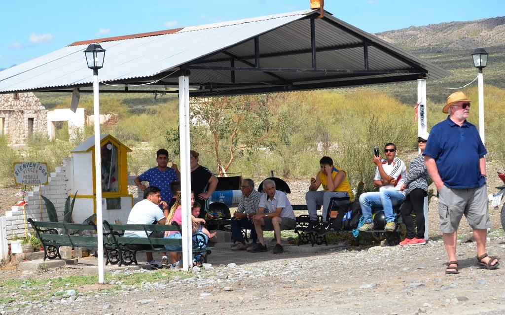 2019-02-01 SALUD: Cobertura Vuelta a San Juan Etapa El Colorado