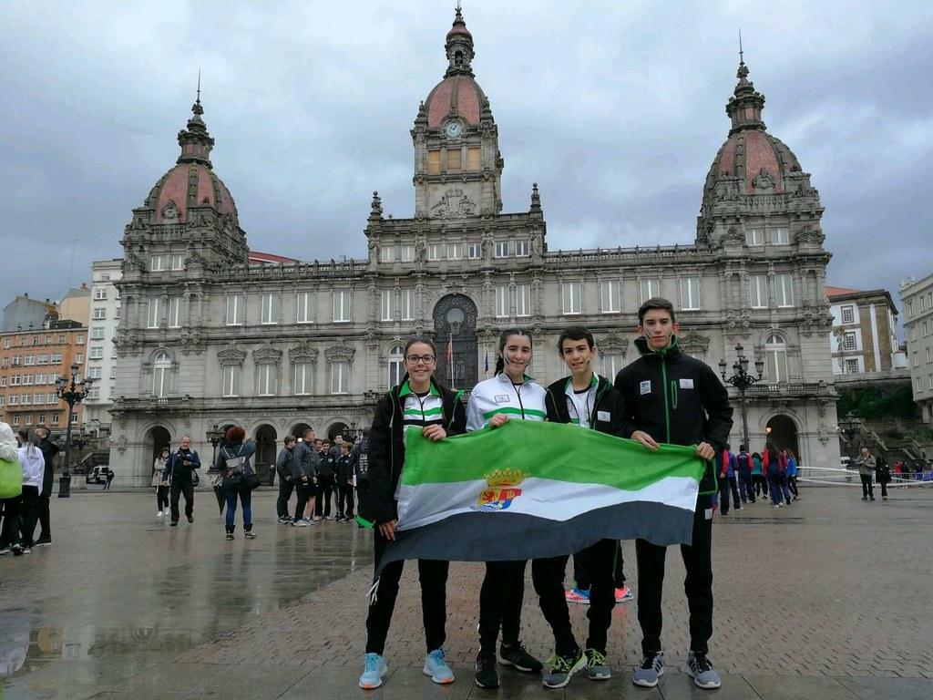 Los caurienses han estado presentes en el Campeonato de España Escolar de Orientación 2018