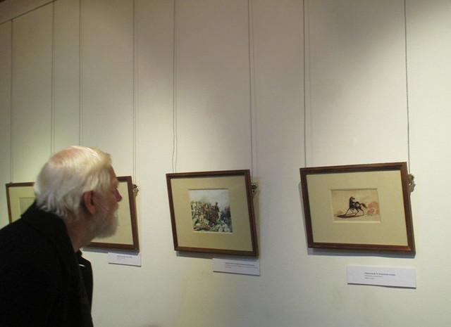 Гости на выставке