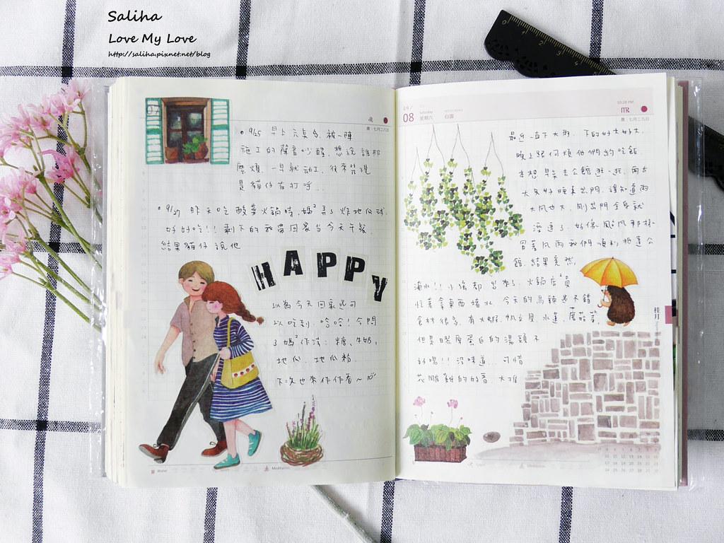 手帳日記裝飾分享紙膠帶設計水彩遊記 (16)