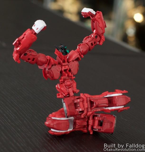 HiRM Astray Red Frame Gundam 11