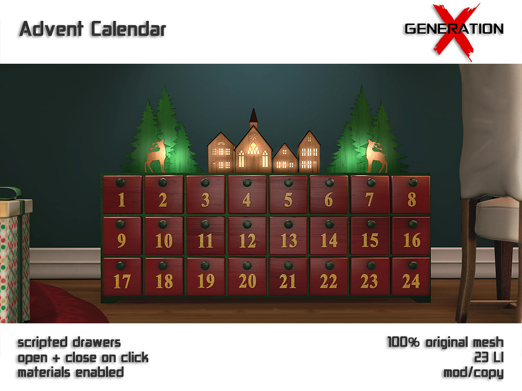 [ GENERATION X ] Advent Calendar @ Christmas Around The World - TeleportHub.com Live!