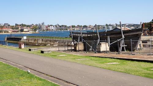 Cockatoo Island ship yard