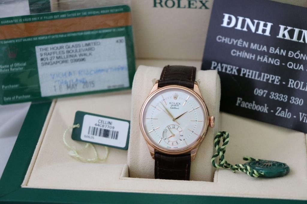 shop thu mua đồng hồ rolex cũ chính hãng