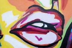 Lips graffiti 1