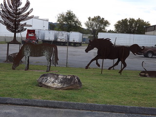 Metal Horse Figures 1of2