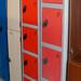 Personal locker with keys E130+vat
