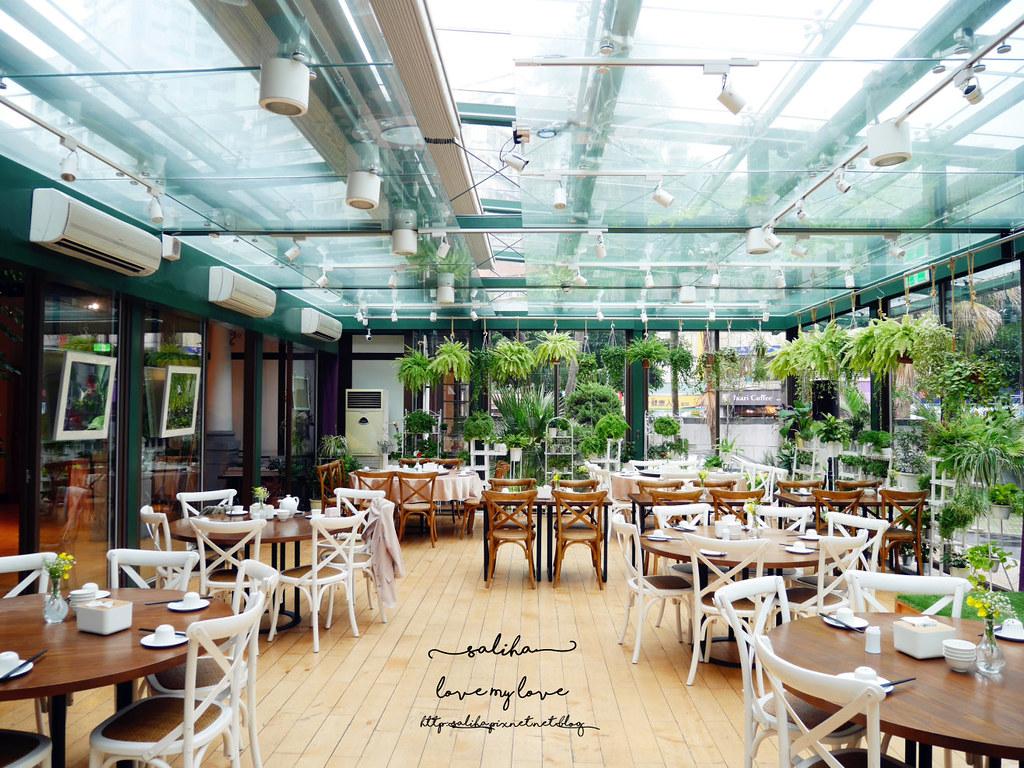 台北古亭站附近絕美玻璃屋植物系浪漫約會餐廳推薦陸聯廳 (5)