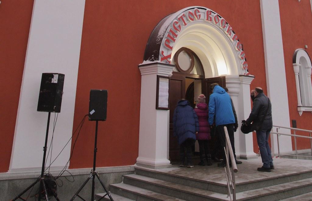 Святейший Патриарх Московский и всея Руси Кирилл совершил великое освящение храма мч. Татианы Римской в Люблино