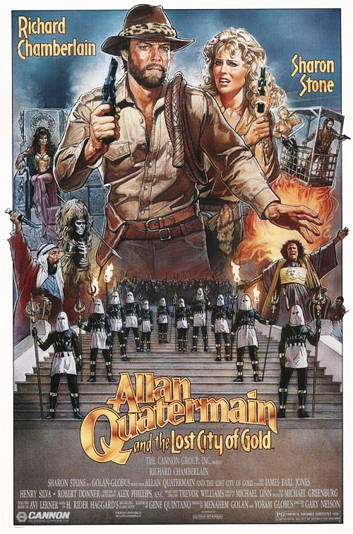 Allan Quatermain and the Lost City of Gold - Poster 1