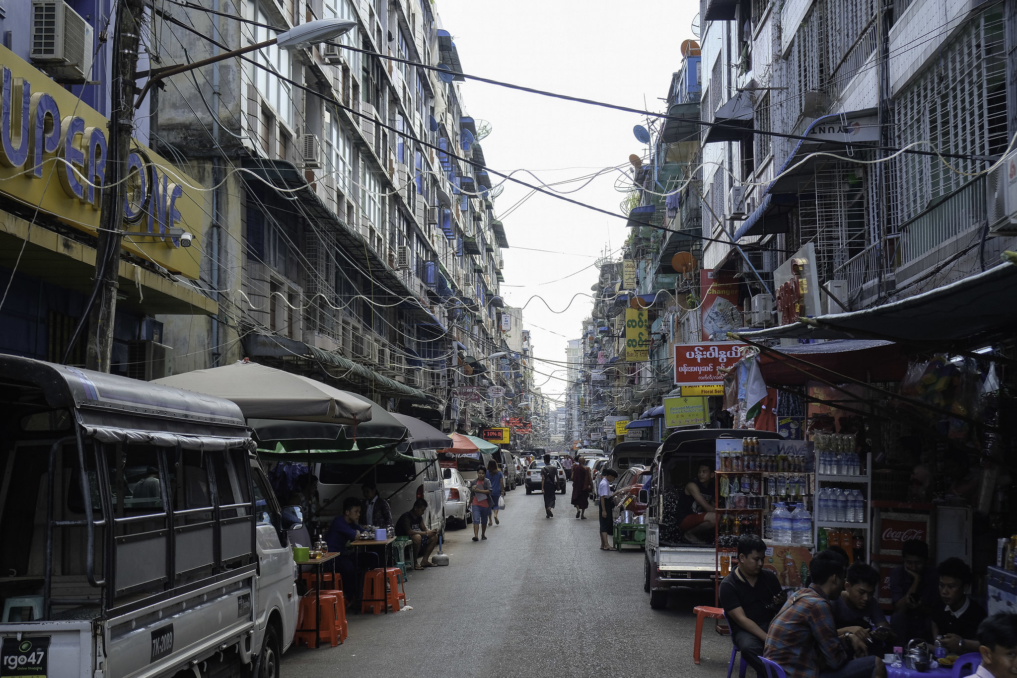 Yangon_Straße